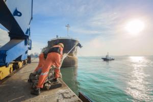 trabajador portuario