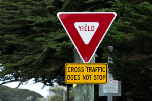 Failure to Yield Right of Way