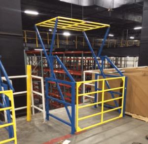 industrial safety gate