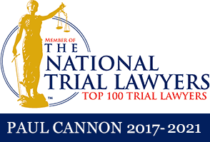 The National Trial Lawyers Top 100 Trial Lawyers - Paul Cannon